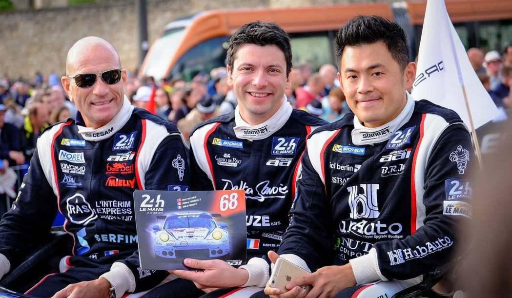 HubAuto Racing創辦人陳漢承將三度領軍挑戰FIA世界級兩大耐久賽事-...