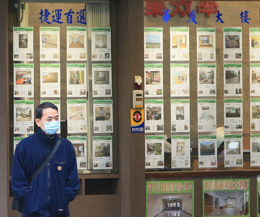 圖為房市示意圖,非新聞當事人。記者潘俊宏攝影/報系資料照