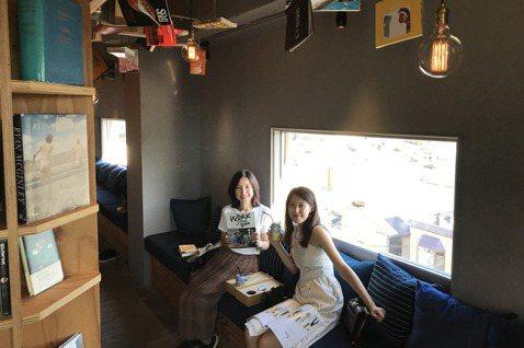 2018年,獨角獸計畫創辦人李惠貞(左)與女兒陳德諠結伴,以福岡作為起點,橫跨7...