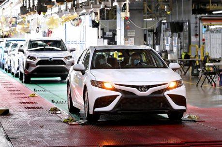 Toyota又有新的里程碑 第1000萬輛美製Camry肯塔基廠下線!