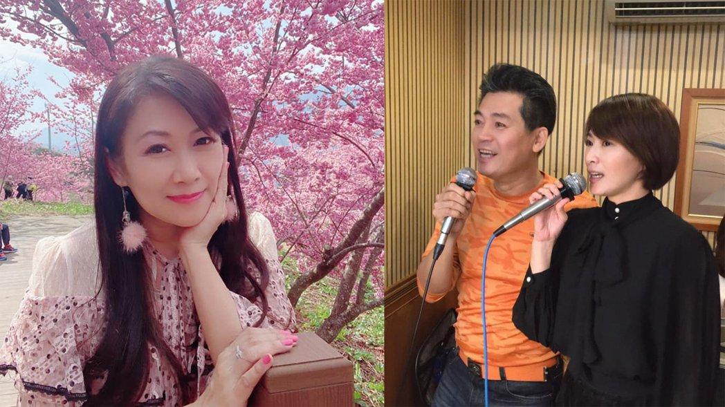 蕭大陸前女友張金鳳在臉書暗指「現世報」,稱當年她和蕭大陸也是被侯怡君介入。圖/摘