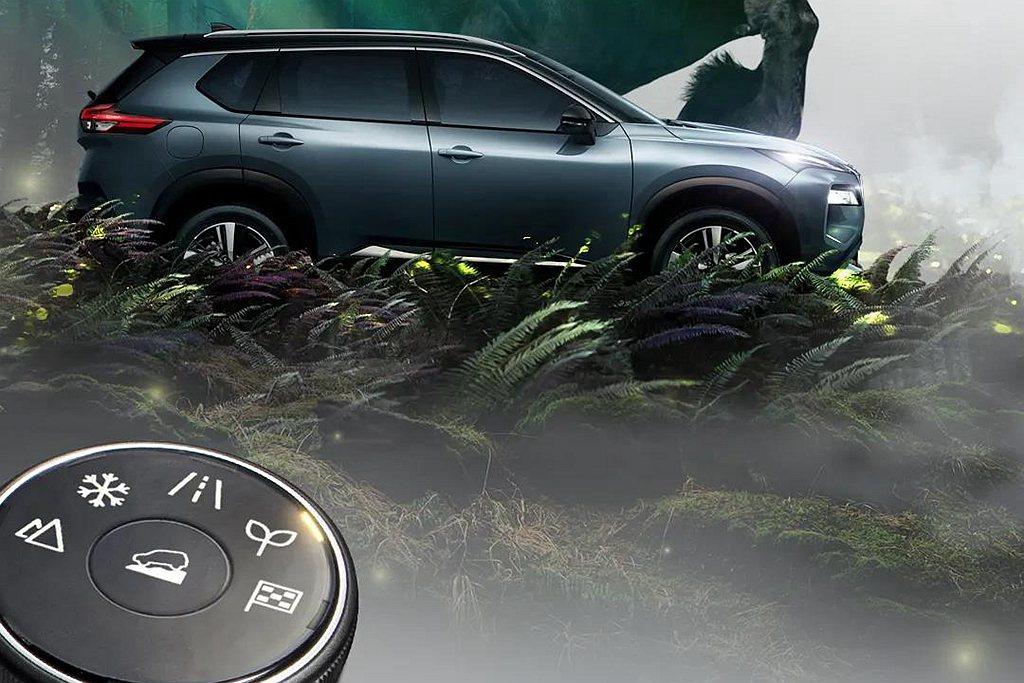 Nissan X-Trail 4WD配置的第二代4×4-i智慧全模式四驅系統,提...
