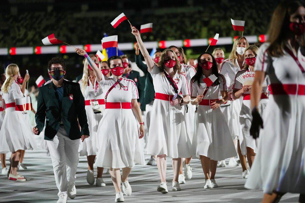 波蘭代表團。 美聯社