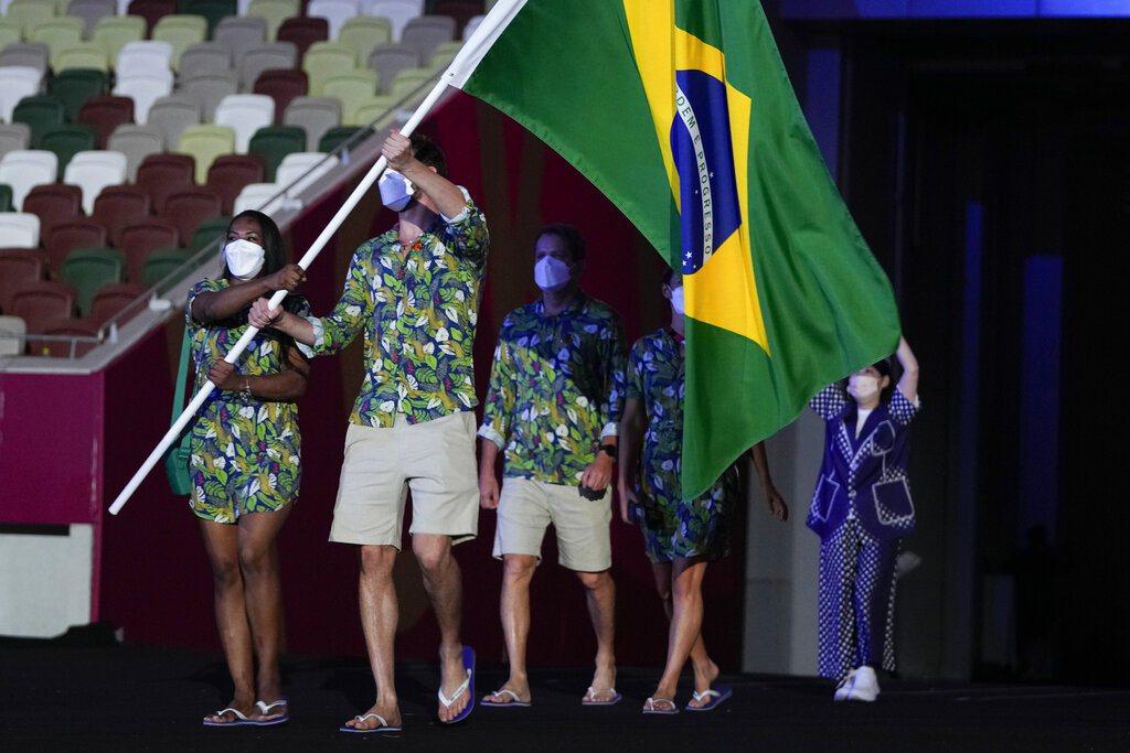 巴西代表團。 美聯社