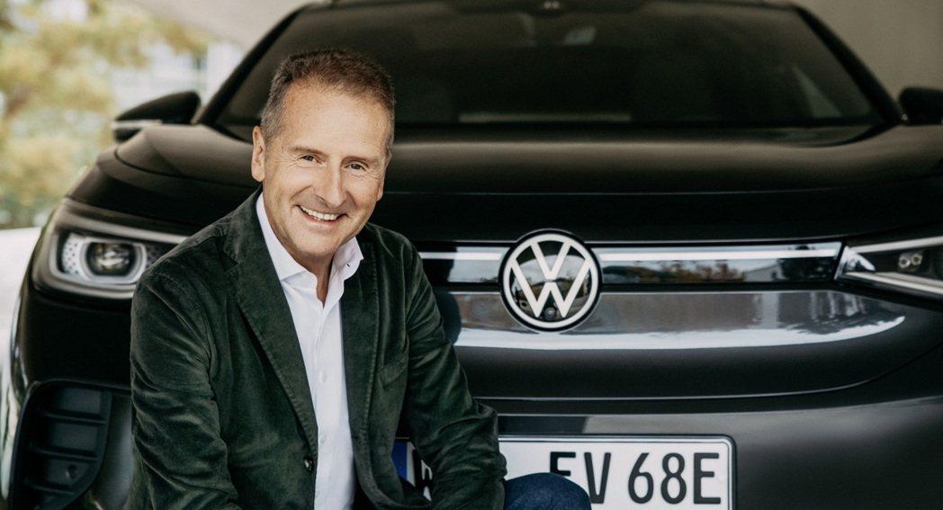 VAG Group執行長Herbert Diess。 摘自Volkswagen