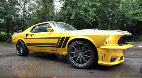 影/有721匹馬力的Ford Mustang居然用的是AMG引擎?!