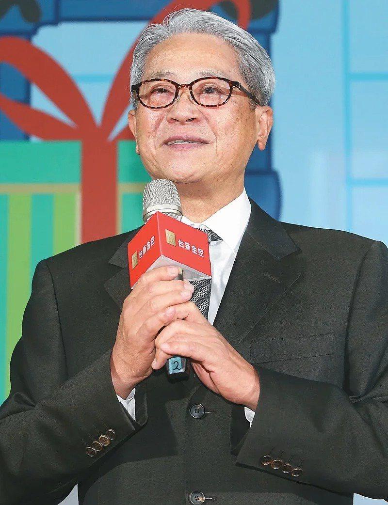 台新金董事長吳東亮。圖/聯合報系資料照