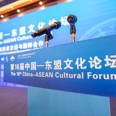 第16屆東協文化論壇,23日在廣西南寧舉辦。南寧台協副會長林大為/提供