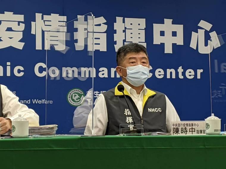 指揮官陳時中表示,7月27日起到8月9日起降級到二級警戒。記者謝承恩/攝影