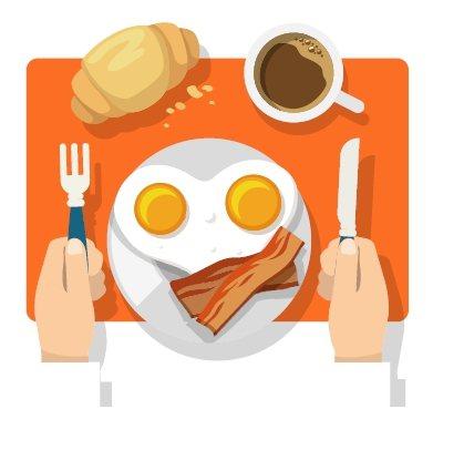 要乖乖吃早餐 圖/123RF