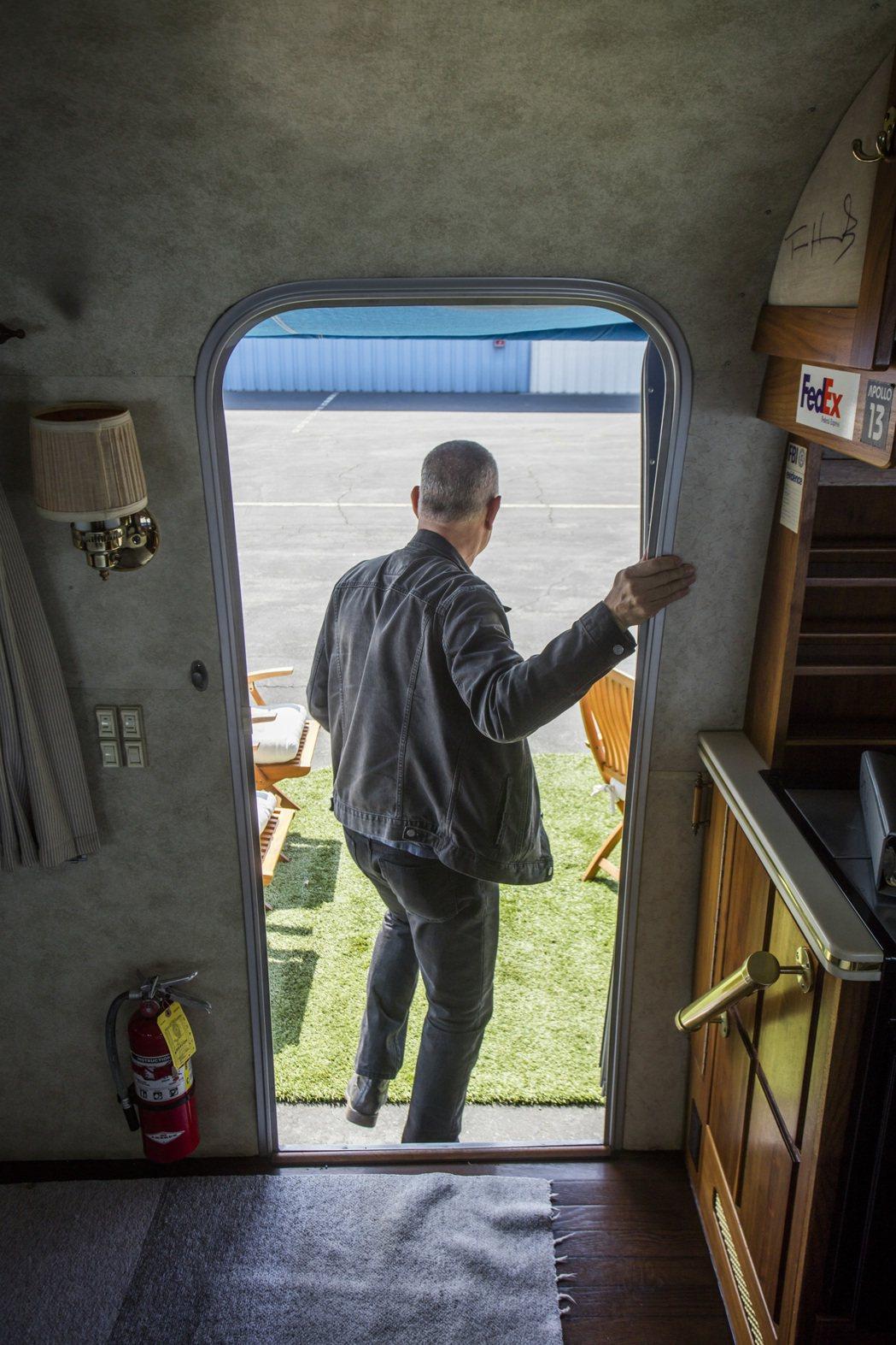 湯姆漢克斯的與他的豪華訂製拖車。圖/邦瀚斯提供