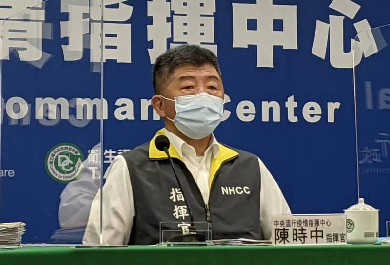 中央流行疫情指揮中心指揮官陳時中表示,7月27日起到8月9日起降級到二級警戒。記者謝承恩/攝影
