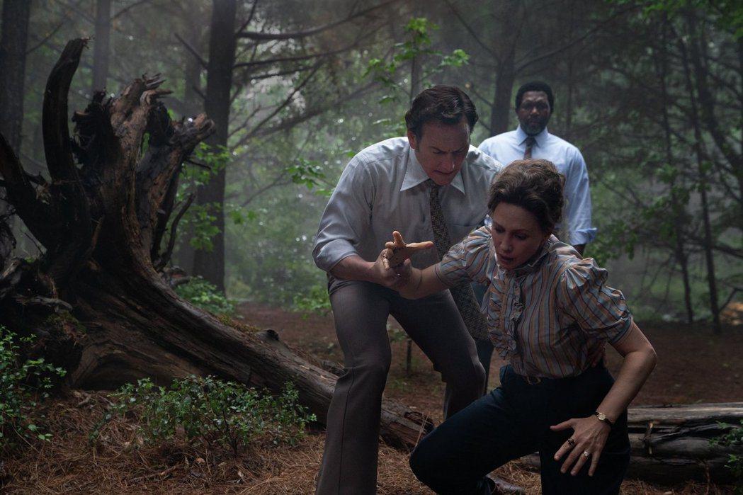 「厲陰宅3:是惡魔逼我的」本周正式在台上映。圖/華納兄弟提供