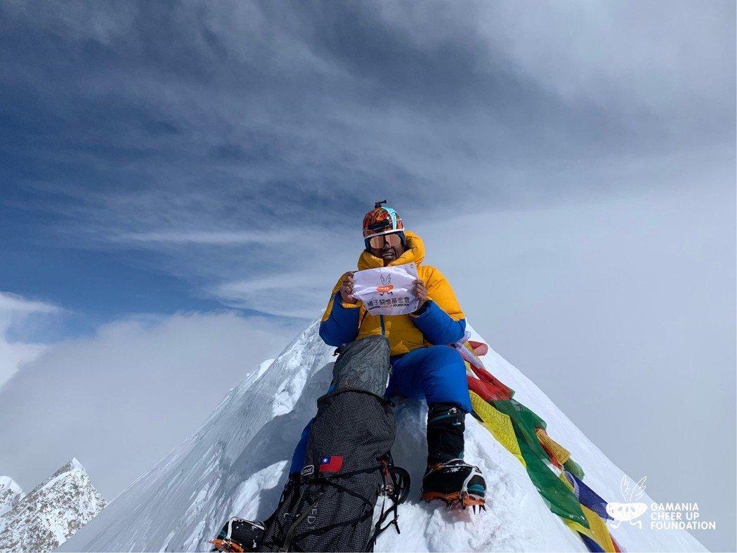 今年4月阿果順利攻下世界第10高峰安娜普納峰,成為台灣首位登氣候多變、路途險惡聞...