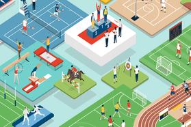 迎接東京奧運開幕 Google首頁暗藏互動式運動小遊戲