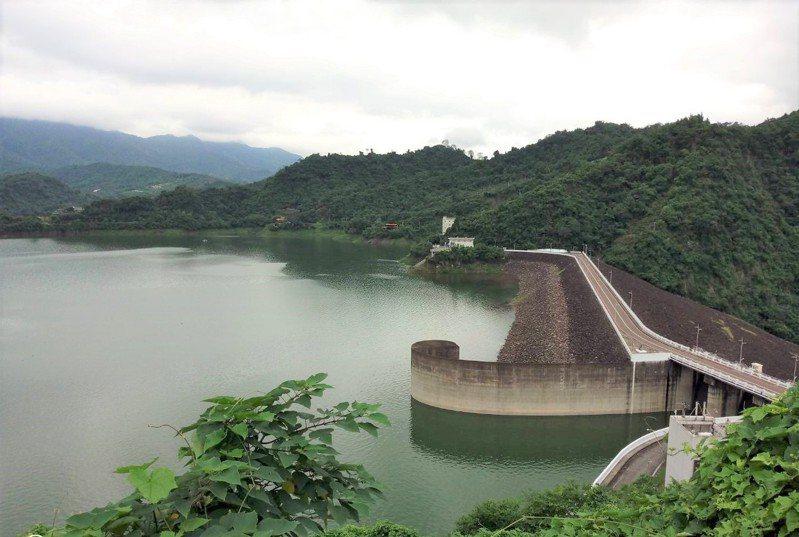 烟花颱風未帶來預期雨量,曾文水庫僅微入帳。圖/南水局提供