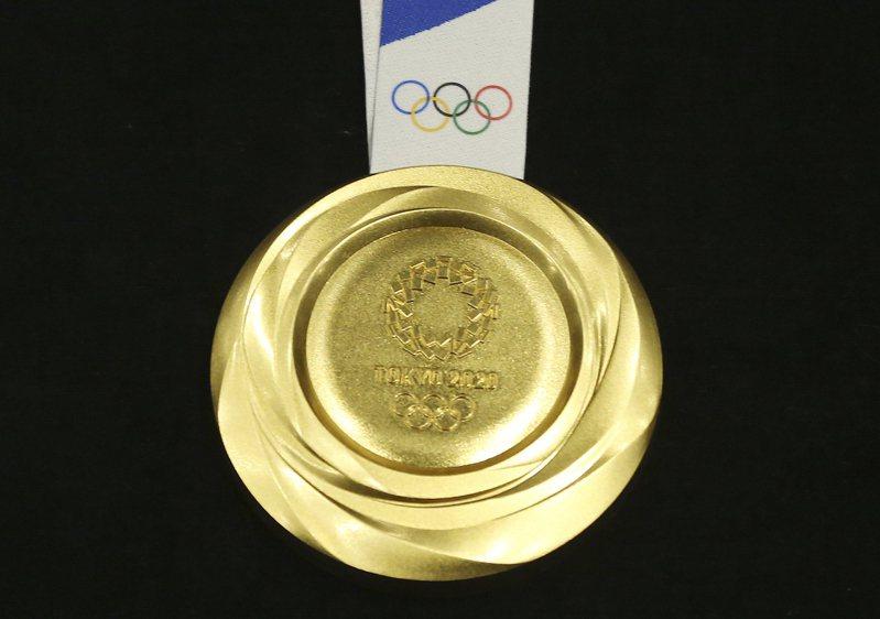 郭台銘建議中華隊選手若奪得奧運金牌,政府應加碼獎金1億元。美聯社