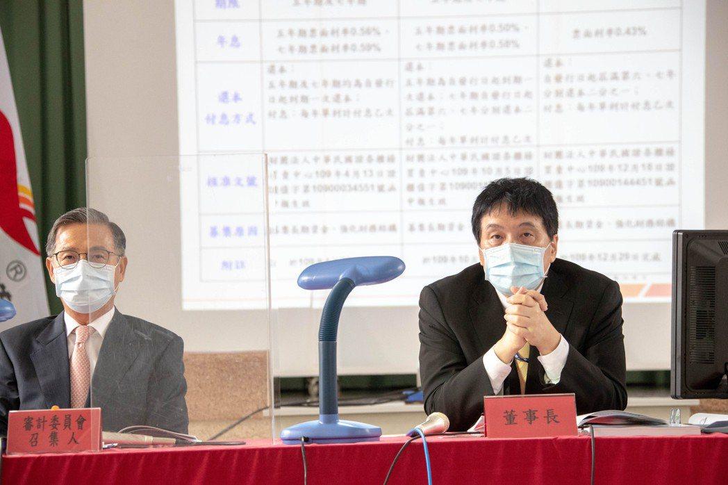 統一董事長羅智先(右)主持股東會。統一/提供
