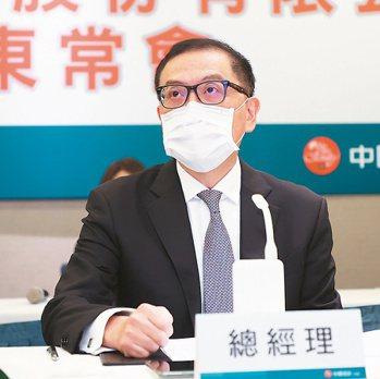 中信金總經理吳一揆記者潘俊宏/攝影