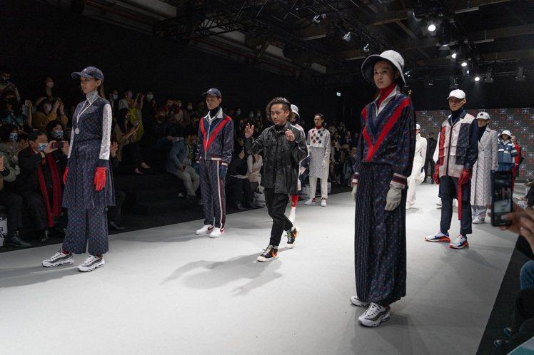JUST IN XX設計師周裕穎今年在台北時裝周發表優雅、懷舊的永續系列運動休閒...