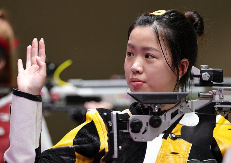 中國楊倩奪下奧運第一金。 路透