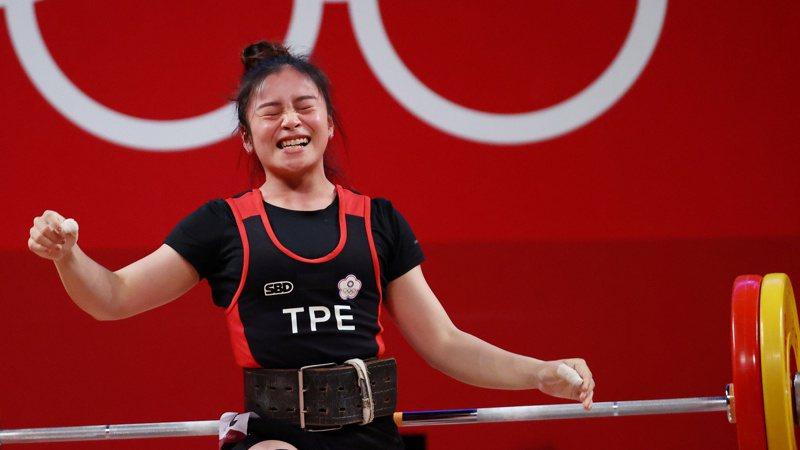 方莞靈舉出第4佳績,入袋國光體育獎章獎金300萬,她完成自己行前設定的前8目標,但再次叩關挺舉全國紀錄103公斤還是留下遺憾。 路透社