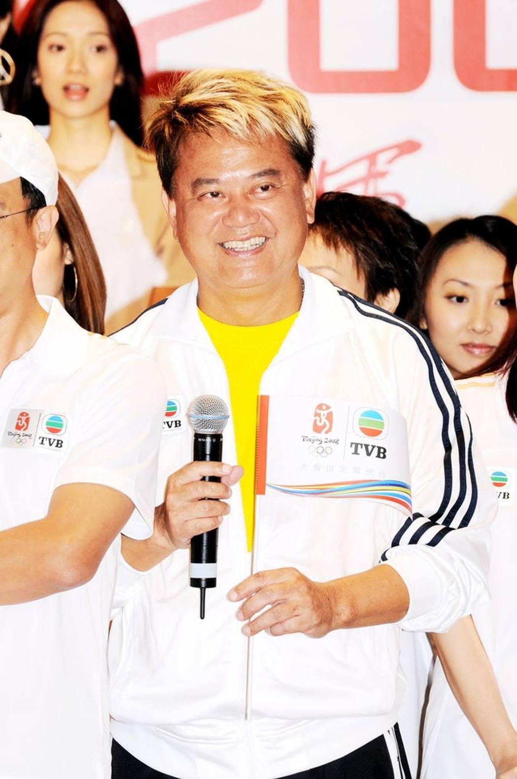 香港藝人陳百祥。圖/擷自香港01資料照、VCG