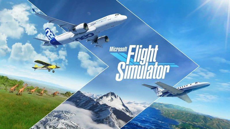 ▲《微軟模擬飛行》