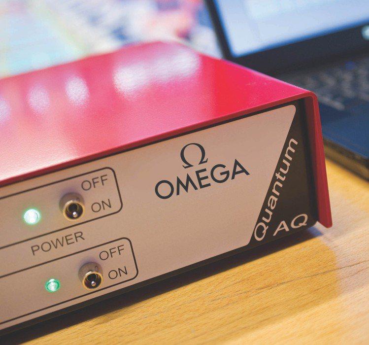 量子計時器(Quantum Timer)。圖 / OMEGA提供。