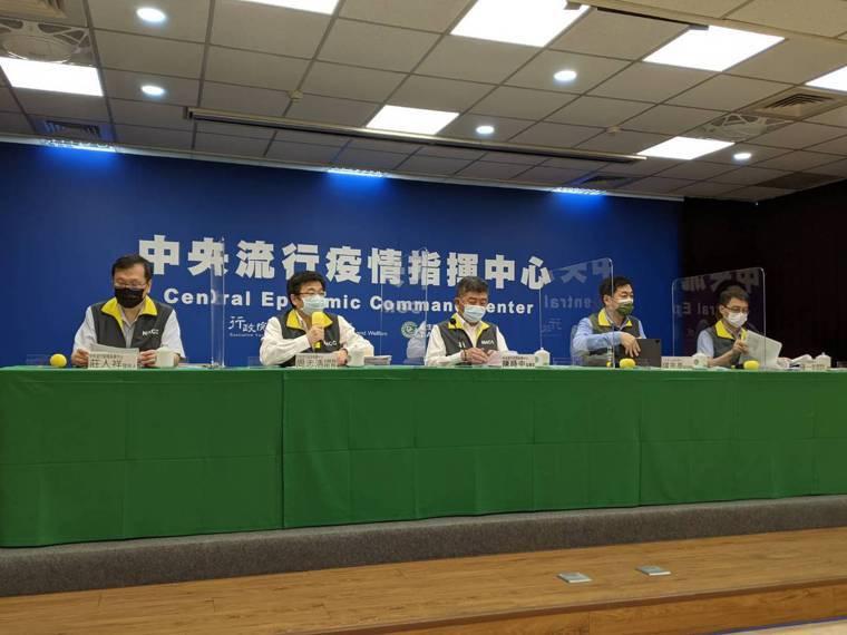 中央流行疫情指揮中心指揮官陳時中,將於下午2時召開記者會。本報資料照片