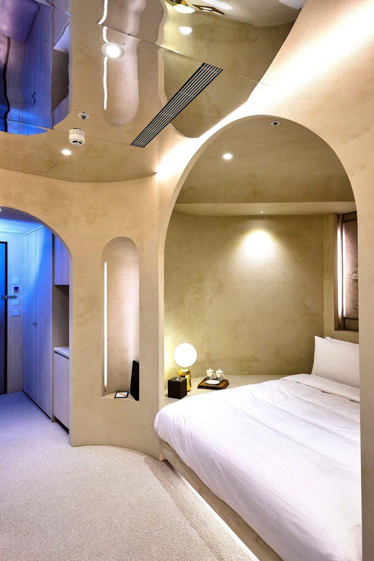 獲獎無數的山寺Yamadera套房。圖/山形閣溫泉飯店提供