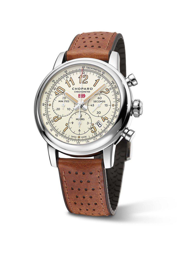 蕭邦Mille Miglia Classic Raticosa計時碼表,42毫米...