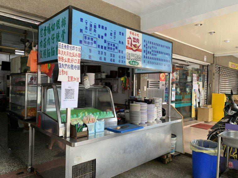 宜蘭縣餐飲店家目前仍暫停開放內用。記者林佳彣/攝影