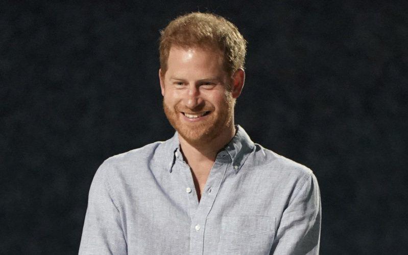 英國哈利王子。美聯社