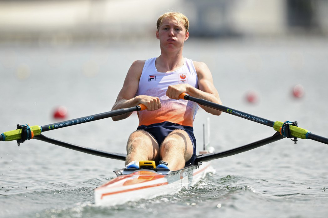 荷蘭划船選手弗羅林出賽後傳染疫。路透