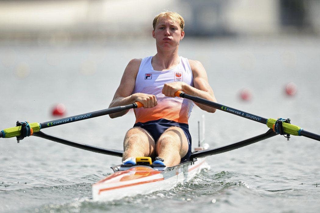 荷蘭划船選手弗羅林出賽後傳染疫。 路透