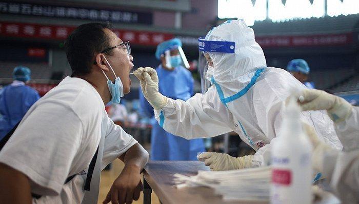 大陸南京23日新增12例本土確診病例及4例無症狀感染者。(圖/取自界面新聞)