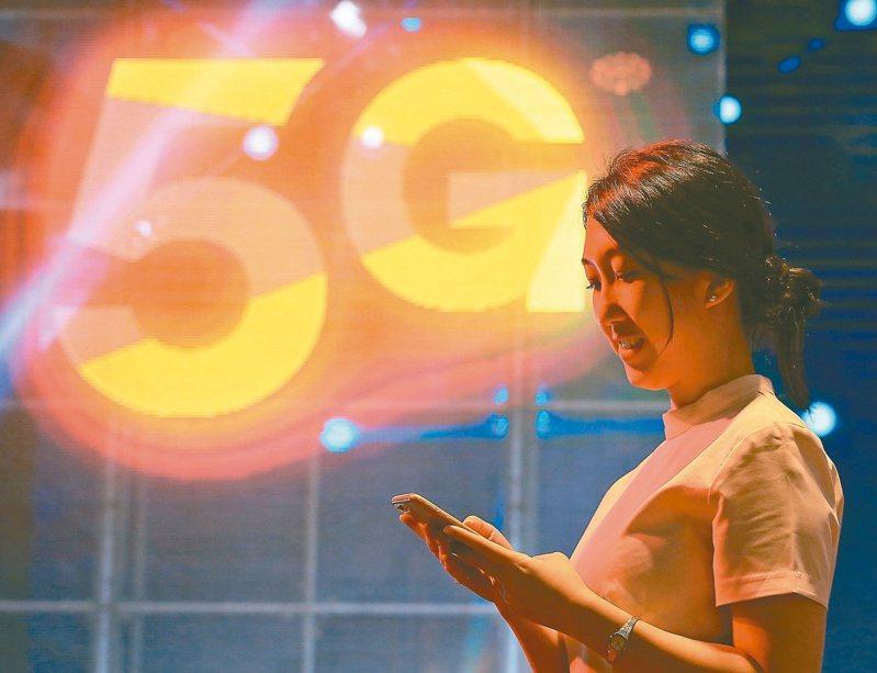 台灣5G自從去(2020)年6月30號開台,至今已滿一年多,不過普及率僅11.8%。 圖/聯合報系資料照片