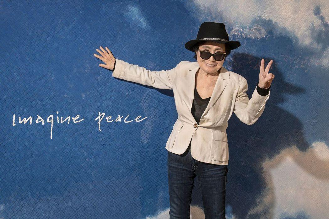 88歲小野洋子感性向外界致謝,並緬懷約翰藍儂,「我們永遠在一起」。圖/摘自推特
