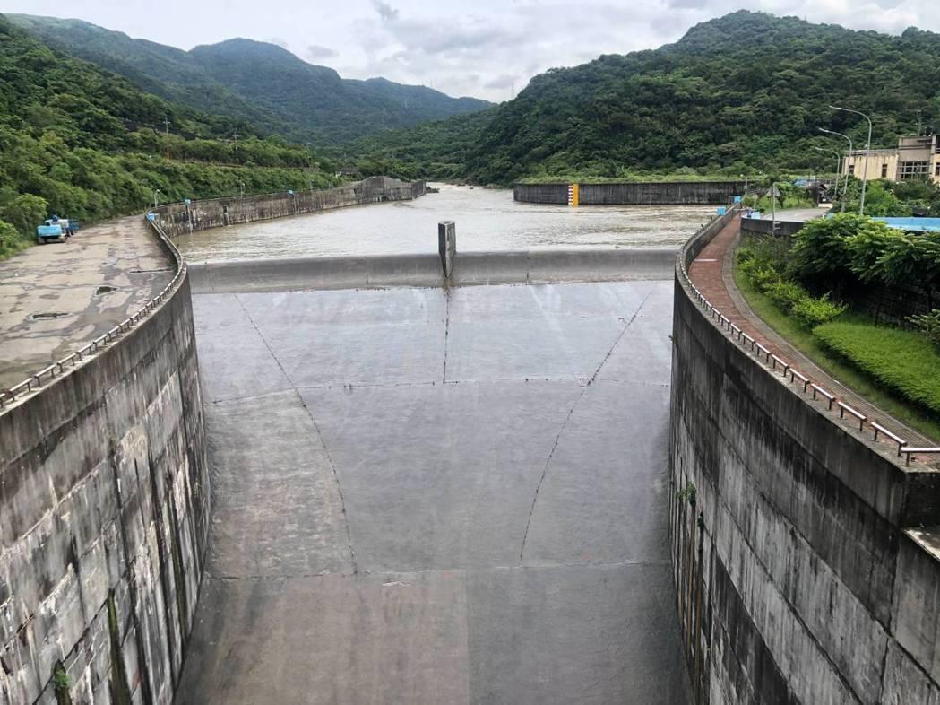 員山子分洪124萬噸降洪峰,瑞芳、七堵及汐止減水患威脅。圖/水利署第十河川局提供