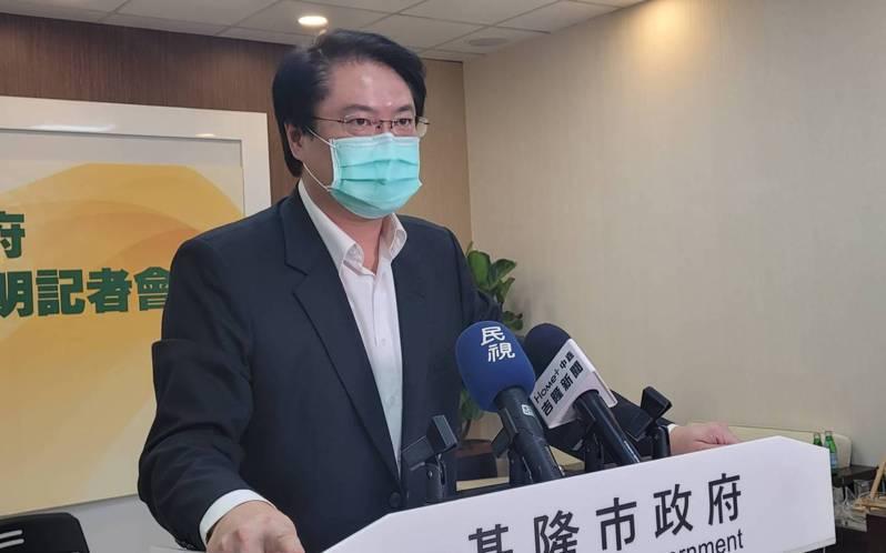 民進黨內派系正國會大將、基隆市長林右昌曾先後為了疫苗殘劑、降級指引等議題「逆風」對中央開砲。圖/聯合報系資料照片