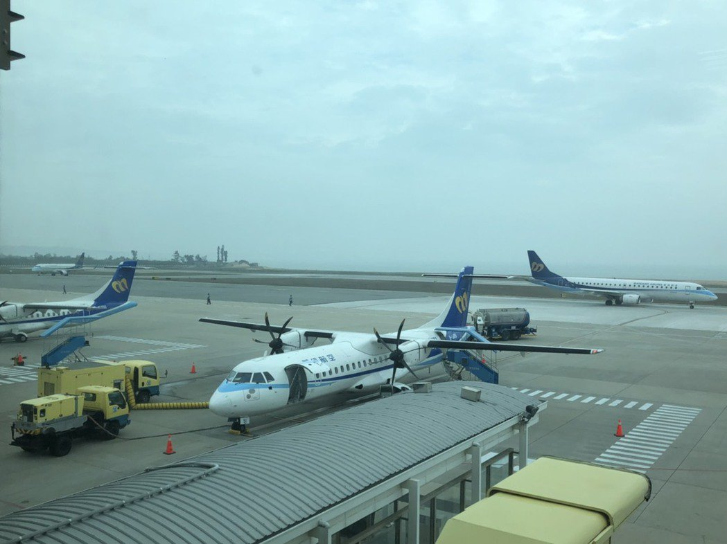 台金航線從8月起將增班,初期每天共有10架次航班。記者蔡家蓁/攝影