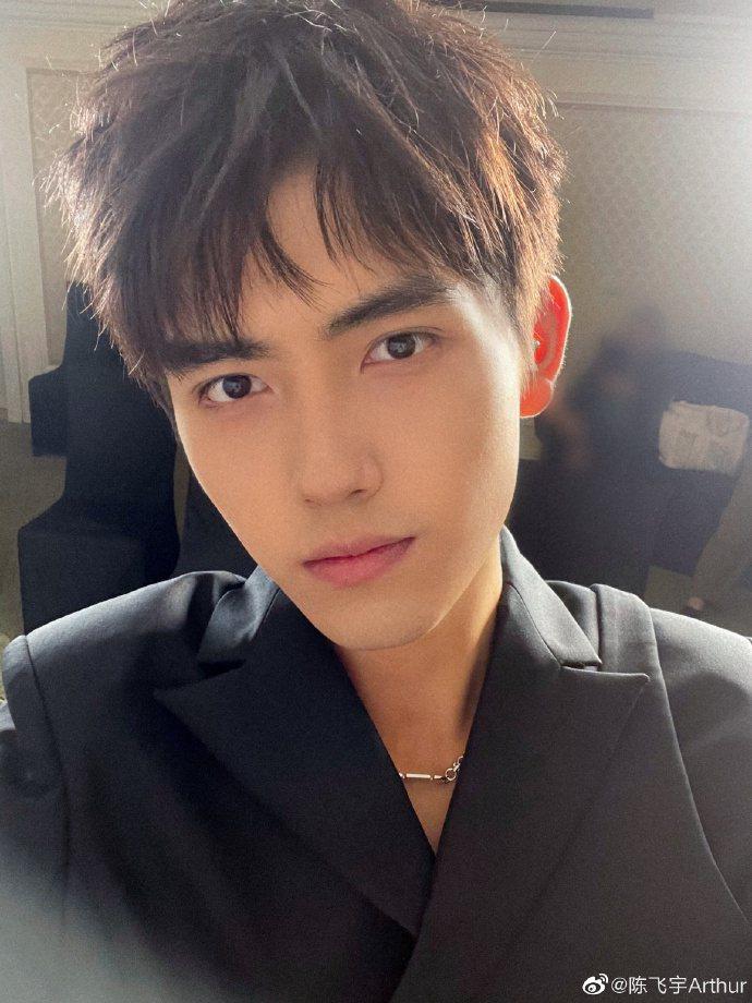 陳飛宇表示已回歸中國籍。圖/摘自微博