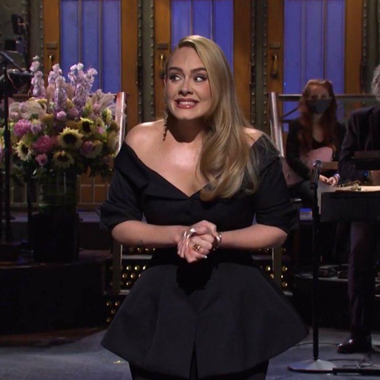 2020年10月她在《週六夜現場》現身時令人驚懾,幾乎是本來的一半。圖/取自IG