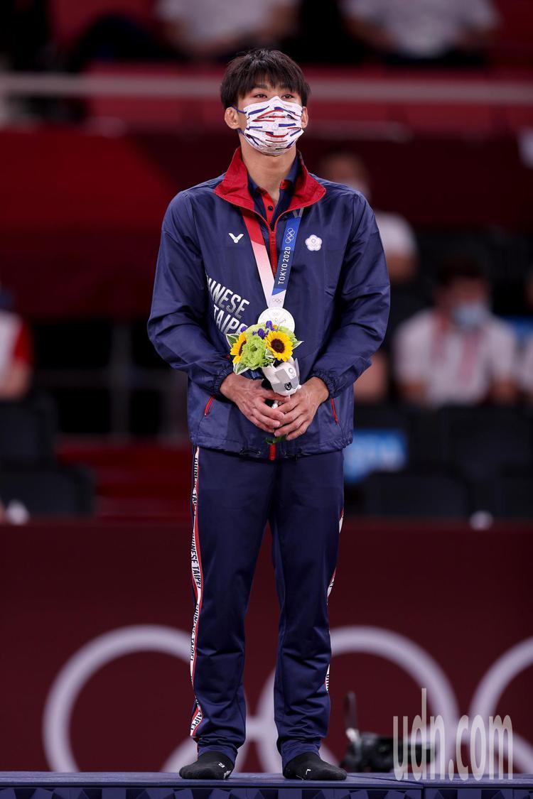 柔道男神楊勇緯首度征戰奧運,就拿下台灣史上首面柔道奧運銀牌。記者/余承翰攝影