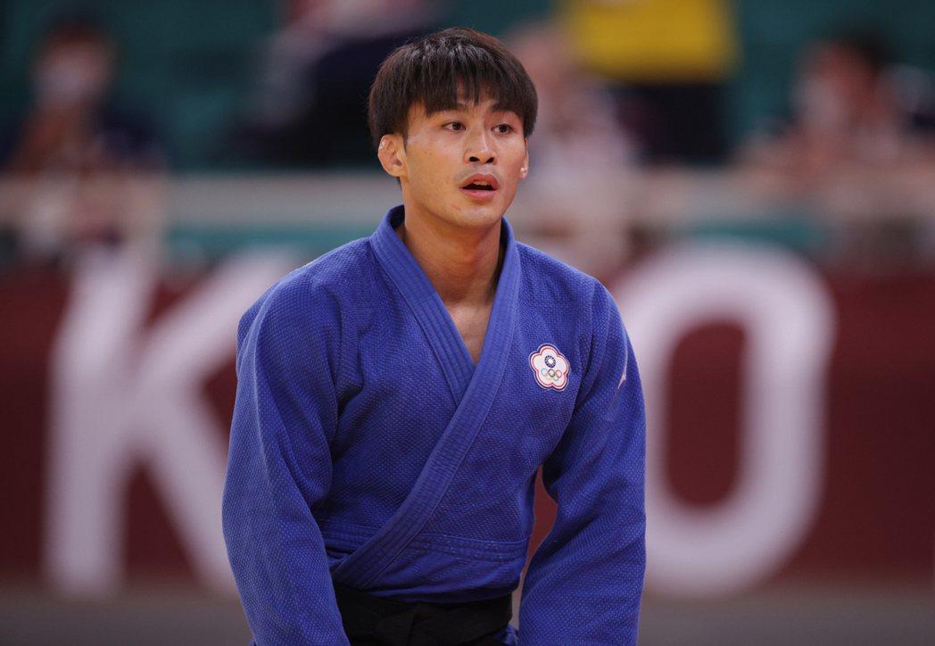 台灣「柔道男神」楊勇緯奪下東京奧運男子60公斤級銀牌。 路透社