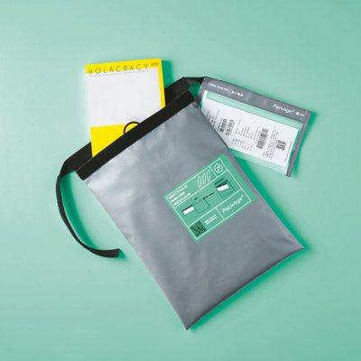 配客嘉的循環包裝袋。配客嘉/提供