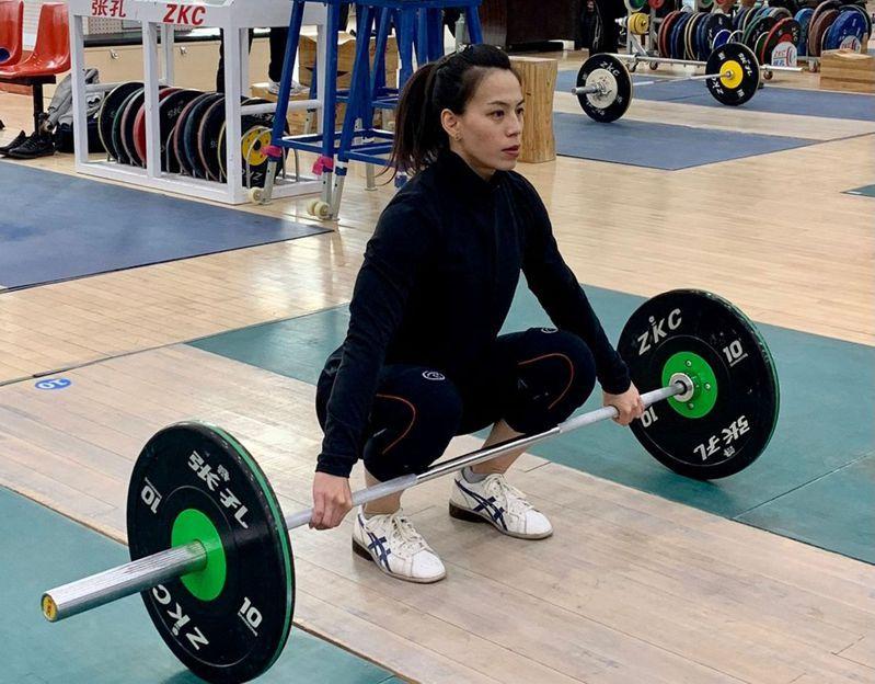 舉重女神郭婞淳將於27日在東奧運女子59公斤級出賽。 圖/法新社