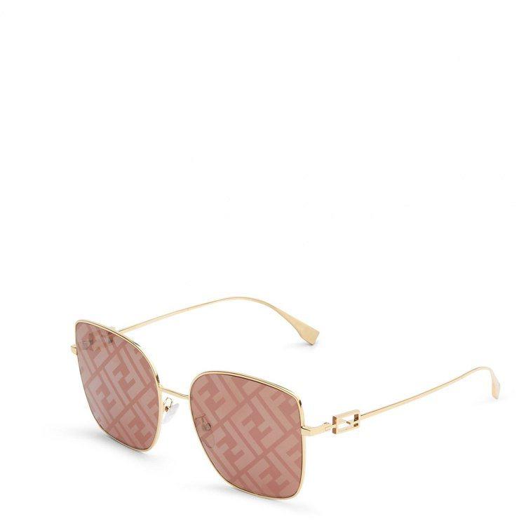 七夕限定系列Baguette FF LOGO太陽眼鏡,15,600元。圖/FEN...