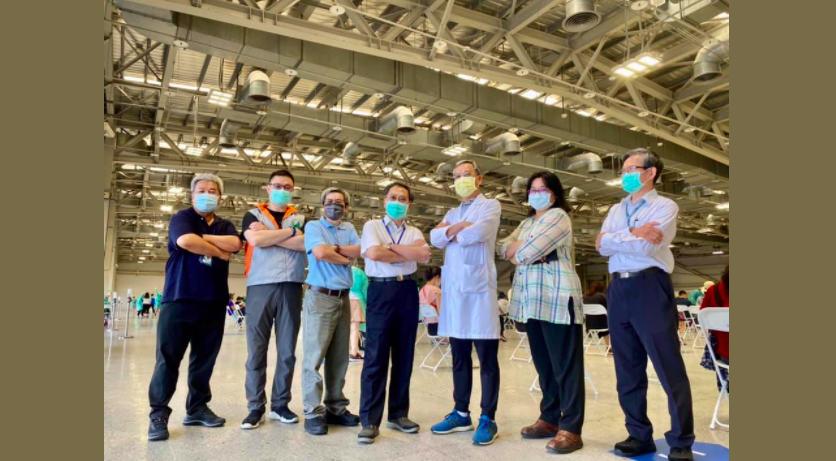 北市副市長蔡炳坤今天則在臉書表示,台北市各醫院的劑量都已經調配完成,明天將到各醫...